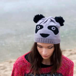 Czapka-panda
