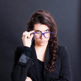 Okulary zerówki w stylu Wayfarer