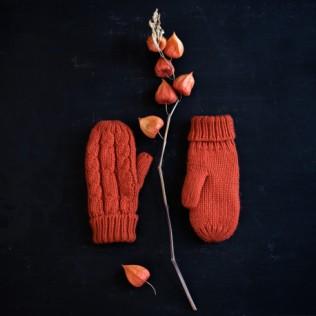 Rękawiczki Klasyczne warkocze
