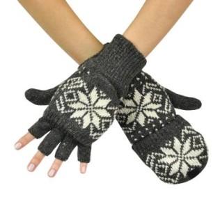 Rękawiczki łapki z gwiazdką