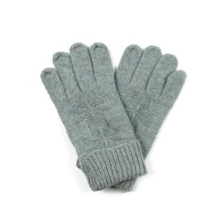 Wełniane rękawiczki z gwiazdką