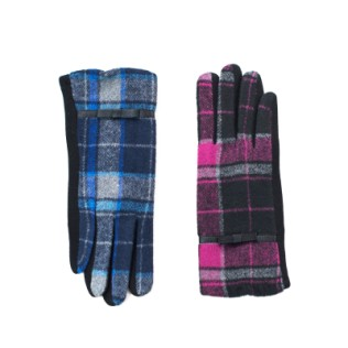 Rękawiczki Klasyczna krata
